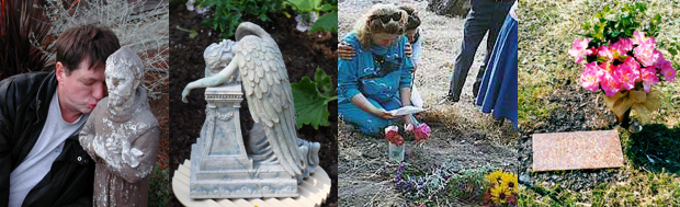 Healing pet loss workshop-images of people grieving the loss of pets