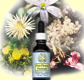 Flower essences for pet loss-Five Flower Formula by FES