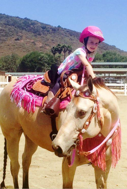 animals grieve too-girl on horse